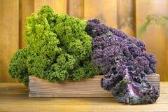 Свежие органические овощи рынка на деревянной предпосылке Стоковая Фотография RF