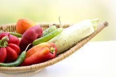 Свежие органические овощи Стоковое Изображение