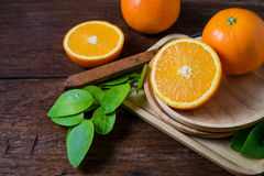 Свежие органические плодоовощи апельсинов Стоковое Изображение