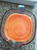 Свежие отжатые моркови squireld стоковое фото rf