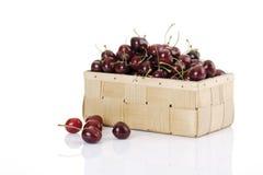 Свежие отрезанные вишни, конец-вверх Стоковое Изображение RF