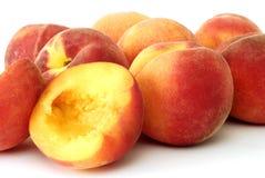 свежие персики стоковое изображение rf