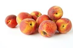 свежие персики Стоковое Изображение