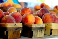 свежие персики Стоковое Фото