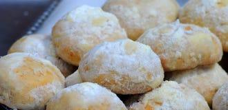 Свежие печенья, помадки Стоковое фото RF