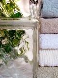 свежие полотенца стоковые изображения rf