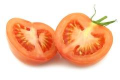 Свежие половины томата Стоковая Фотография RF