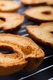Свежие провозглашанные тост бейгл Стоковая Фотография