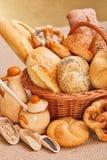 Свежие продукты и ингридиенты хлебопекарни Стоковые Фото