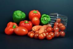 Свежие продукты, vegetable ассортименты Стоковые Изображения RF