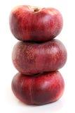 Свежие плоские плодоовощи персика Стоковая Фотография