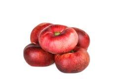 Свежие плоские плодоовощи персика Стоковое фото RF