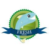 Свежие рыбы иллюстрация штока