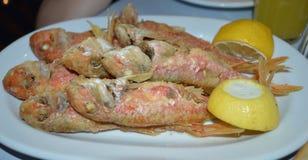 Свежие рыбы, Glyfada, Афины Стоковое Фото