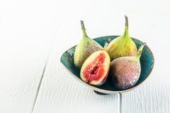 Свежие сочные суккулентные смоквы для здоровой закуски Стоковые Фотографии RF