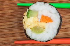 свежие суши крена Стоковое фото RF