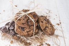 Свежие сделанные печенья Стоковое Изображение