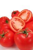 свежие томаты группы стоковое фото rf