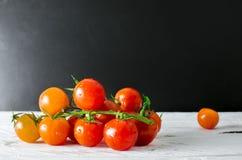 свежие томаты Стоковое Изображение