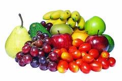 свежие фрукты ассортимента Стоковое Фото