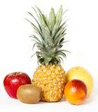 Свежие фрукты изолированные на белизне Стоковое Изображение RF