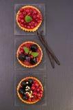 Торты свежих фруктов Стоковые Изображения RF