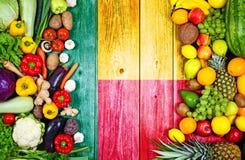 Свежие фрукты и овощи от Бенина стоковое изображение rf
