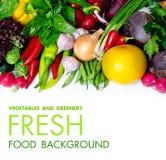 Свежие фрукты и овощи Стоковые Фото