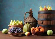 Свежие фрукты и овощи Стоковые Фотографии RF
