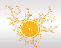 Свежие фрукты и фруктовый сок Backround Стоковые Фото