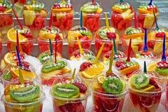 свежие фрукты коктеила Стоковое фото RF
