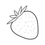 Свежие фрукты клубники Стоковое Фото
