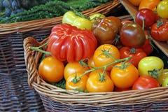 Свежие фрукты на рынке Стоковые Фотографии RF