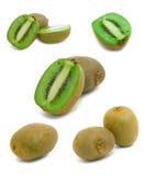 свежие фрукты предпосылки изолировали белизну кивиа Стоковая Фотография