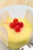 свежие фрукты смородины торта ягоды Стоковое Изображение