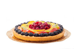 свежие фрукты торта Стоковая Фотография RF