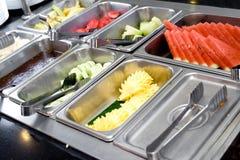 свежие фрукты шведского стола Стоковая Фотография