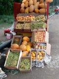 Свежие фрукты для продавать Стоковое Изображение