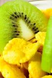 свежие фрукты cornflakes Стоковые Изображения RF