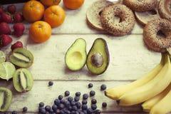 Свежие фрукты smoothy Стоковые Изображения