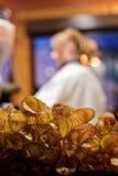 Свежие хрустящие корочки (картофельные стружки) Стоковое Изображение