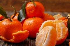 Свежие цитрус или мандарин tangerine стоковое фото rf