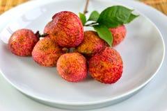 свежие lychees Стоковая Фотография RF