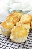 свежие scones печи Стоковые Изображения