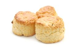 свежие scones Стоковые Изображения