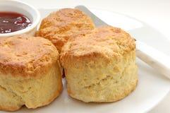свежие scones Стоковое Изображение