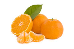свежие tangerines Стоковая Фотография