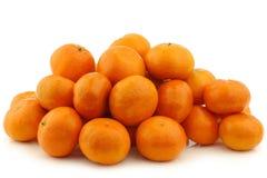 Свежие tangerines Стоковое Изображение