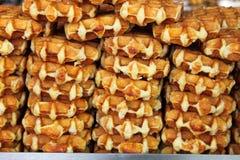 свежие waffles стоковое изображение rf