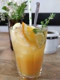 Свежий апельсиновый сок стоковая фотография rf